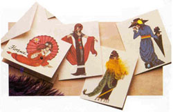 Picture of Fashionable Ladies Cards