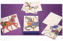 Carousel Horses Cards