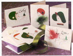 Picture of Christmas Ladies Cards