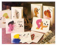 Picture of Musical Ladies Cards